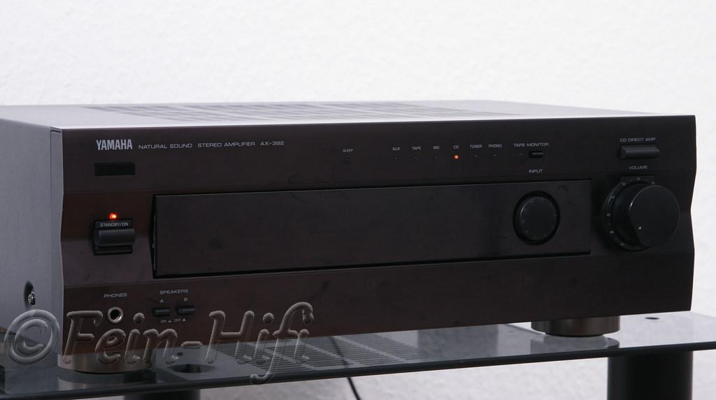 yamaha ax 392 stereo verst rker l. Black Bedroom Furniture Sets. Home Design Ideas