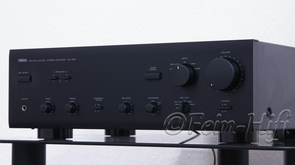 yamaha ax 450 stereo verst rker gebraucht fein hifi. Black Bedroom Furniture Sets. Home Design Ideas