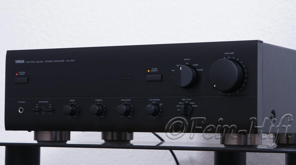 yamaha stereo verst rker ax 470 gebraucht. Black Bedroom Furniture Sets. Home Design Ideas