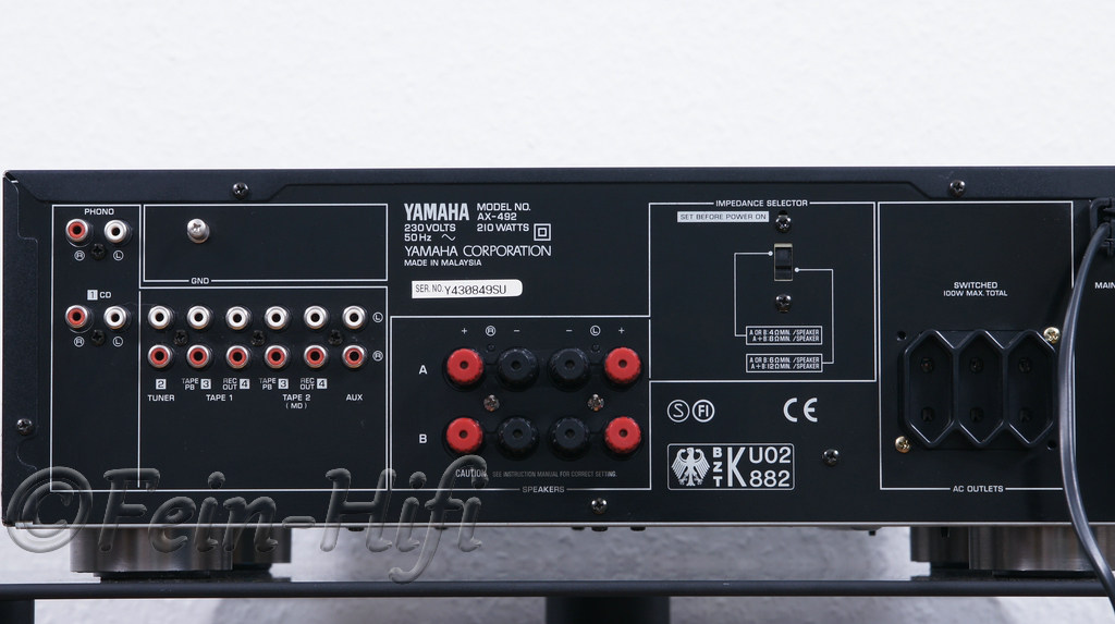 Yamaha Stereo Receiver Amplifier