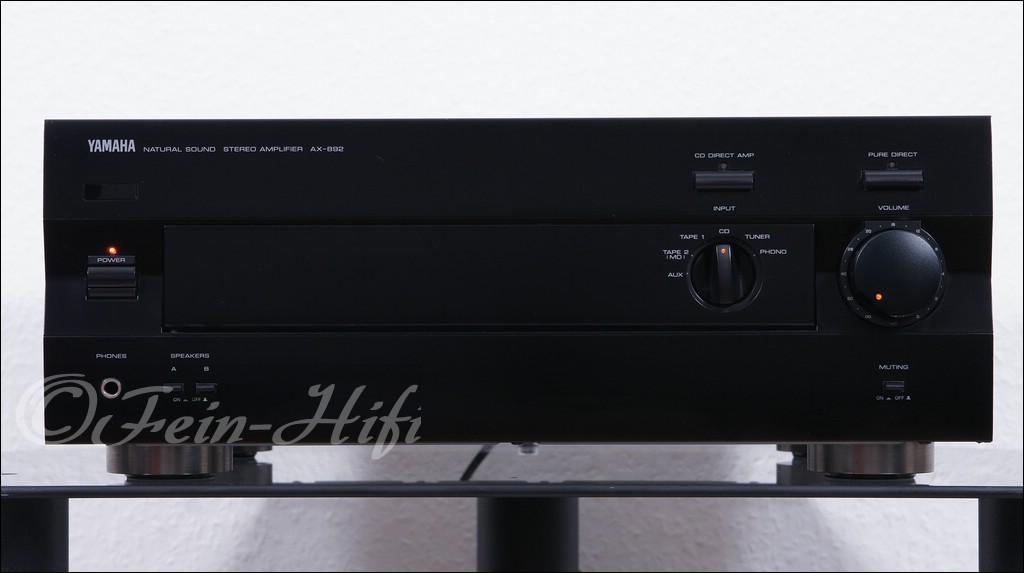 yamaha ax 892 stereo verst rker amplifier gebraucht. Black Bedroom Furniture Sets. Home Design Ideas