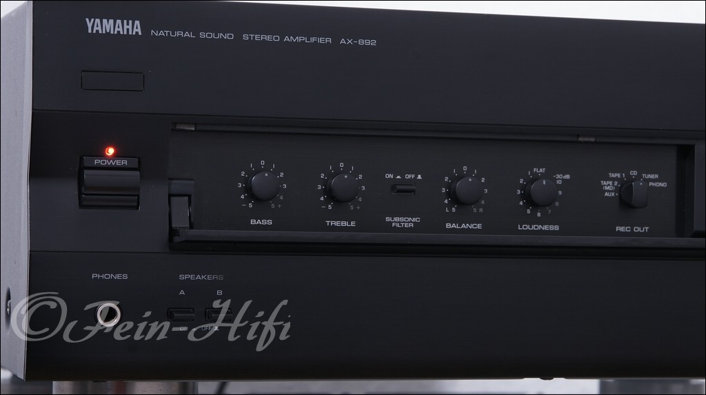 Yamaha W Amplifier