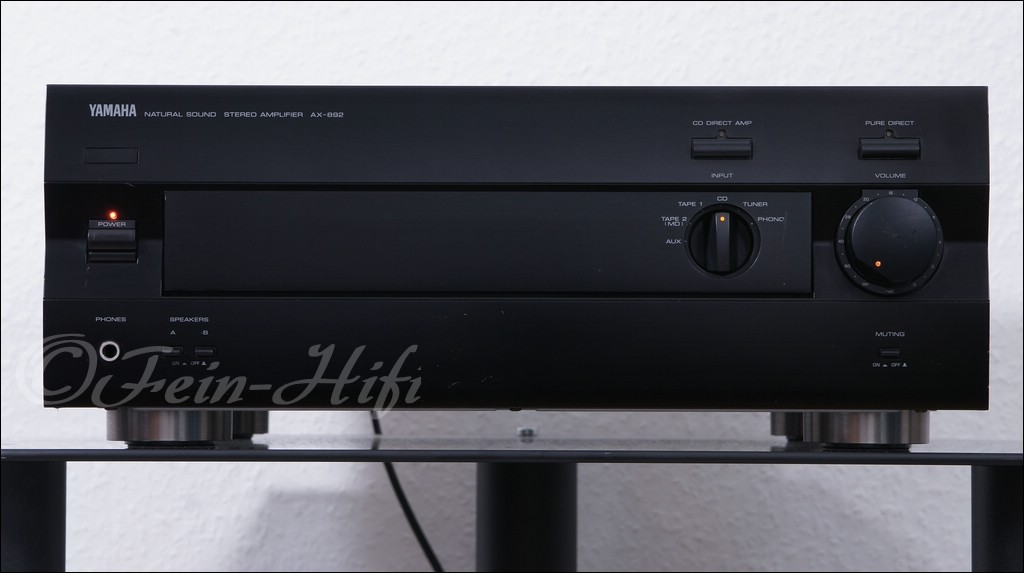 yamaha verst rker ax 892 amplifier gebraucht fein hifi. Black Bedroom Furniture Sets. Home Design Ideas