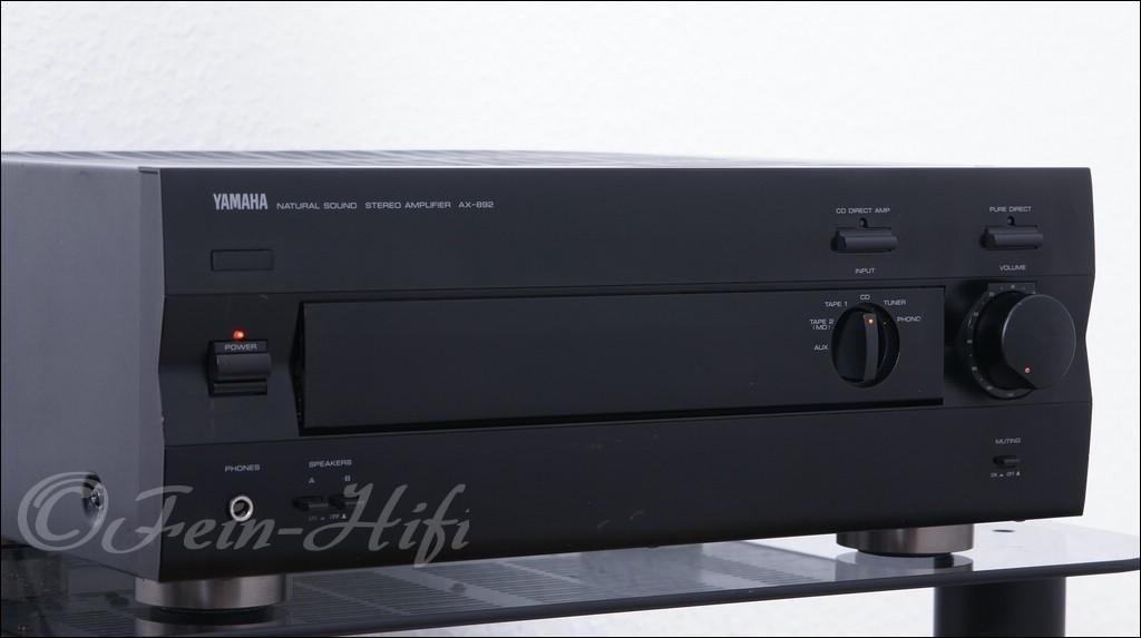 yamaha verst rker ax 892 amplifier gebraucht fein hifi. Black Bedroom Furniture Sets. Home Design Ideas