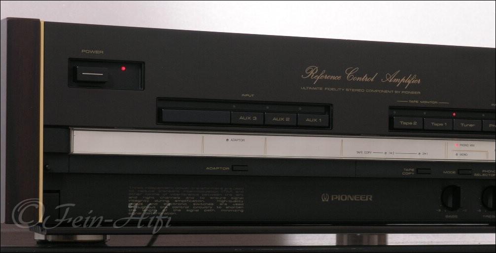 pioneer c 90 high end stereo vorverst rker gebraucht. Black Bedroom Furniture Sets. Home Design Ideas