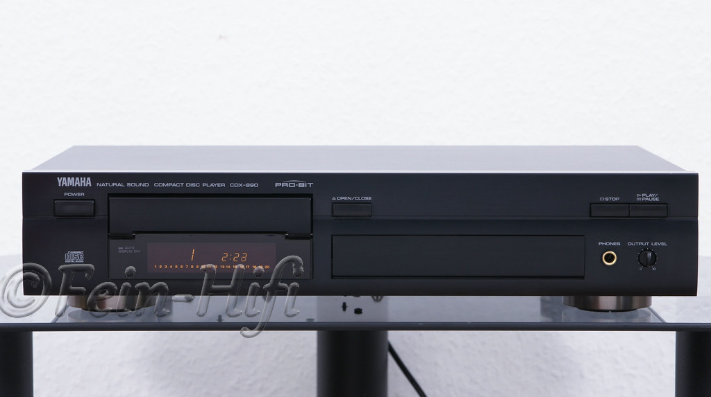 yamaha cdx 890 hifi cd player gebraucht fein hifi shop. Black Bedroom Furniture Sets. Home Design Ideas