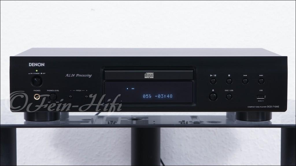 denon dcd 710ae cd player mit mp3 wma und usb gebraucht. Black Bedroom Furniture Sets. Home Design Ideas