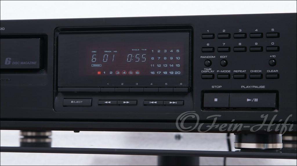kenwood dp m5520 hifi cd wechsler cd player gebraucht. Black Bedroom Furniture Sets. Home Design Ideas