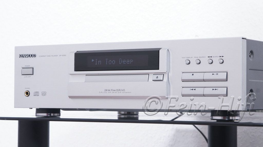 kenwood dp 5090 cd player mit cd text silber. Black Bedroom Furniture Sets. Home Design Ideas