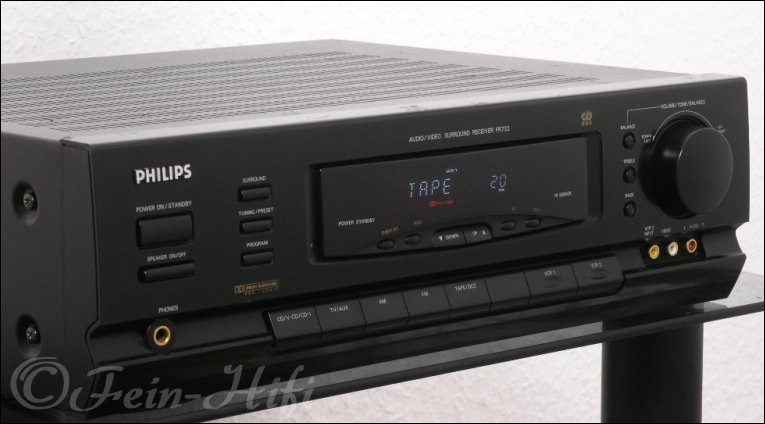 Dolby Surround Verstärker : philips fr 732 surround av receiver fein hifi ~ Aude.kayakingforconservation.com Haus und Dekorationen