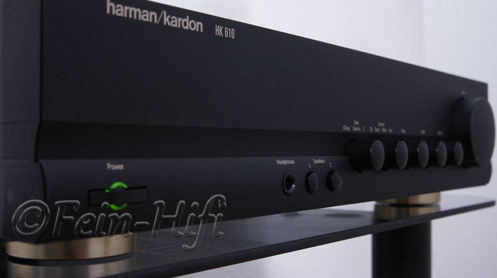 harman kardon hk 610 stereo vollverst rker fein hifi shop. Black Bedroom Furniture Sets. Home Design Ideas
