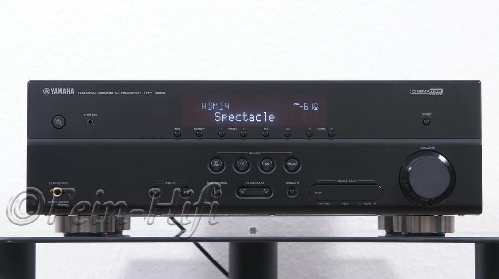 Yamaha A V Receiver Htr
