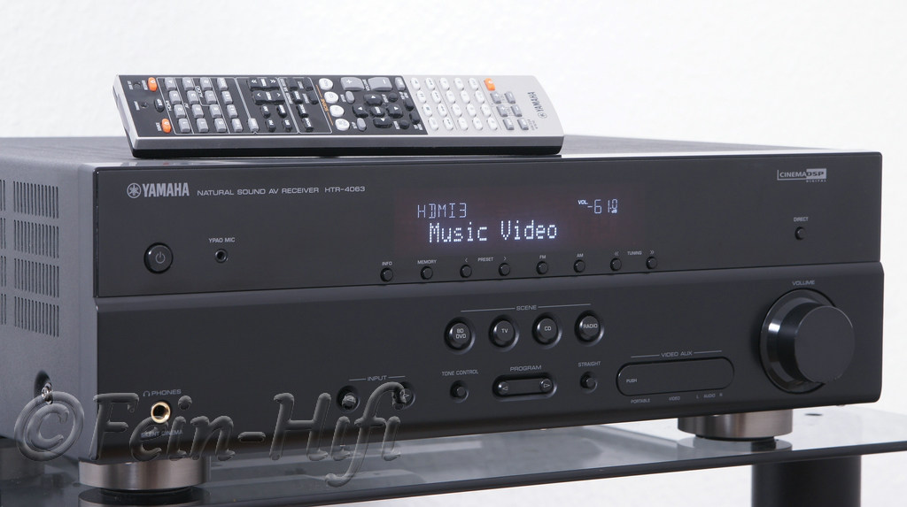 yamaha htr 4063 hdmi 5 1 heimkino av receiver. Black Bedroom Furniture Sets. Home Design Ideas