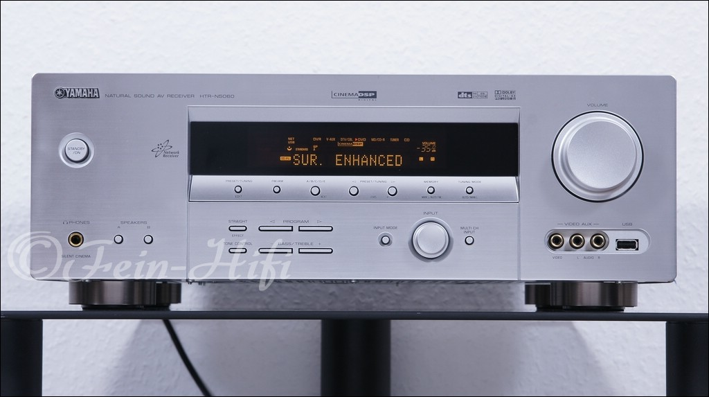 yamaha htr n5060 digital 5 1 av receiver mit usb und lan. Black Bedroom Furniture Sets. Home Design Ideas