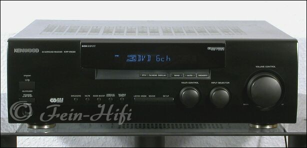Kenwood receiver krfv5020