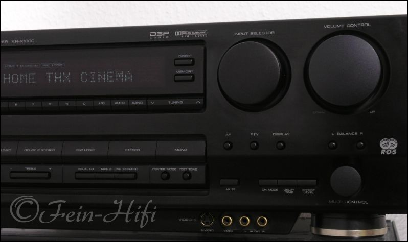 Kenwood kr x1000 heimkino thx 5 1 av receiver - Thx home cinema ...