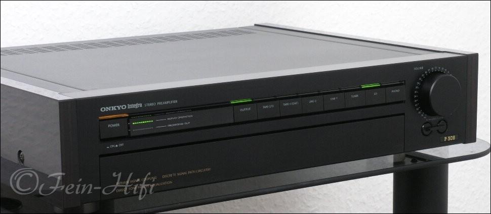 onkyo p 308 integra audiophiler vorverst rker preamplifier. Black Bedroom Furniture Sets. Home Design Ideas