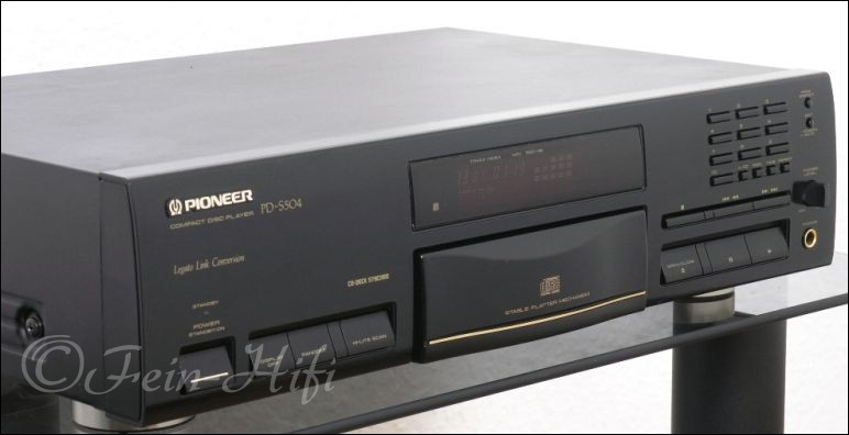 pioneer pd s 504 hifi cd player gebraucht. Black Bedroom Furniture Sets. Home Design Ideas
