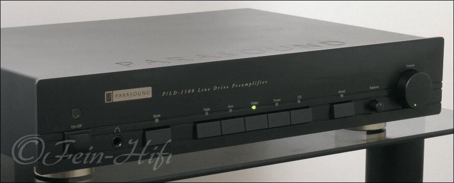 parasound p lp 1100 high end vorverst rker pre amplifier. Black Bedroom Furniture Sets. Home Design Ideas