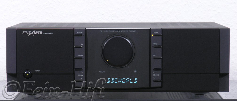 grundig fine arts r2 stereo receiver gebraucht fein hifi. Black Bedroom Furniture Sets. Home Design Ideas