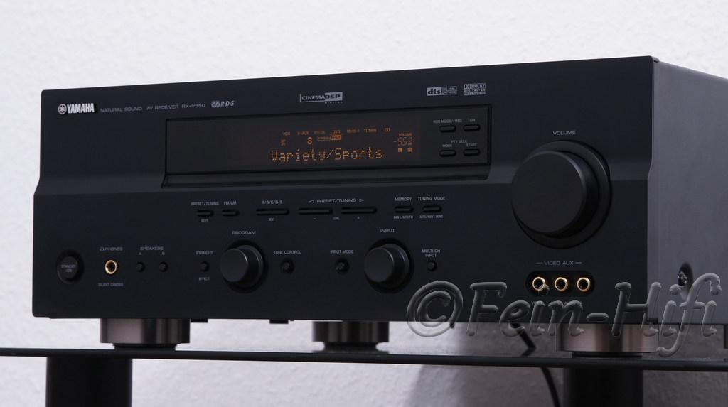 Yamaha RX-V550 Dolby Digital 6.1 Heimkino AV Receiver