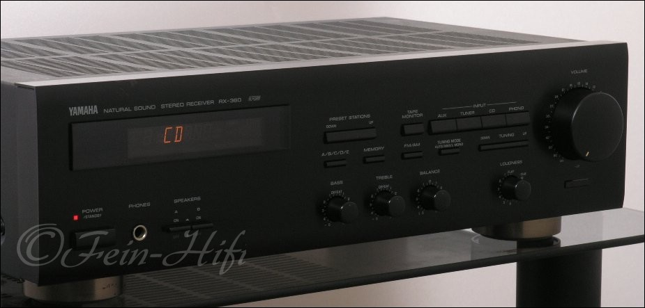 yamaha rx 360 stereo receiver second hand fein hifi. Black Bedroom Furniture Sets. Home Design Ideas
