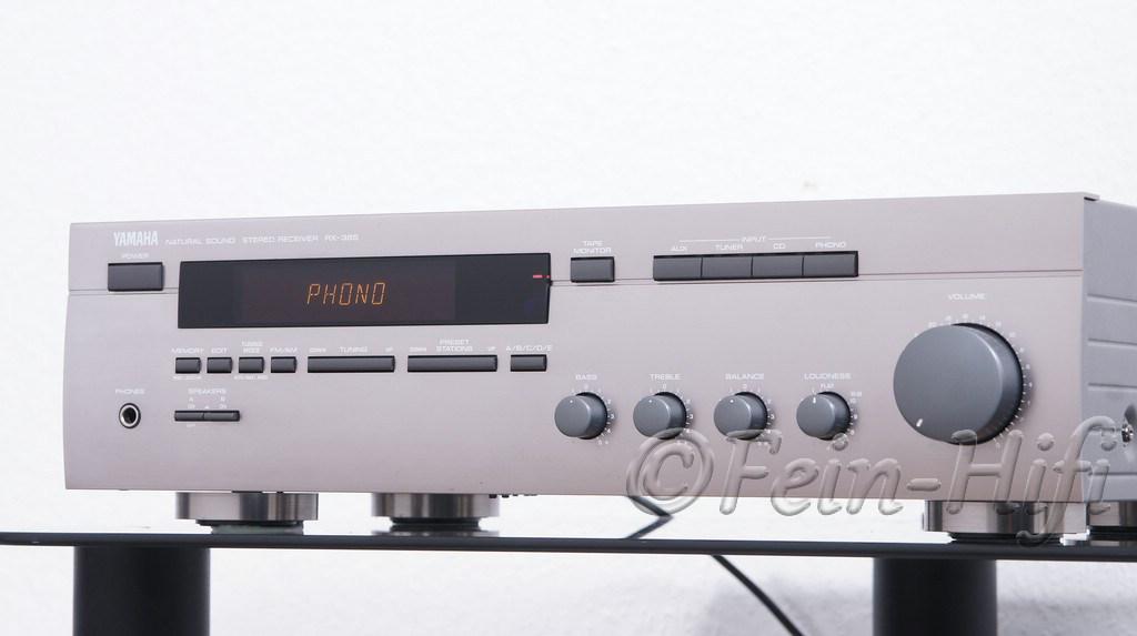 yamaha rx 385 hifi stereo receiver in titan gebraucht. Black Bedroom Furniture Sets. Home Design Ideas
