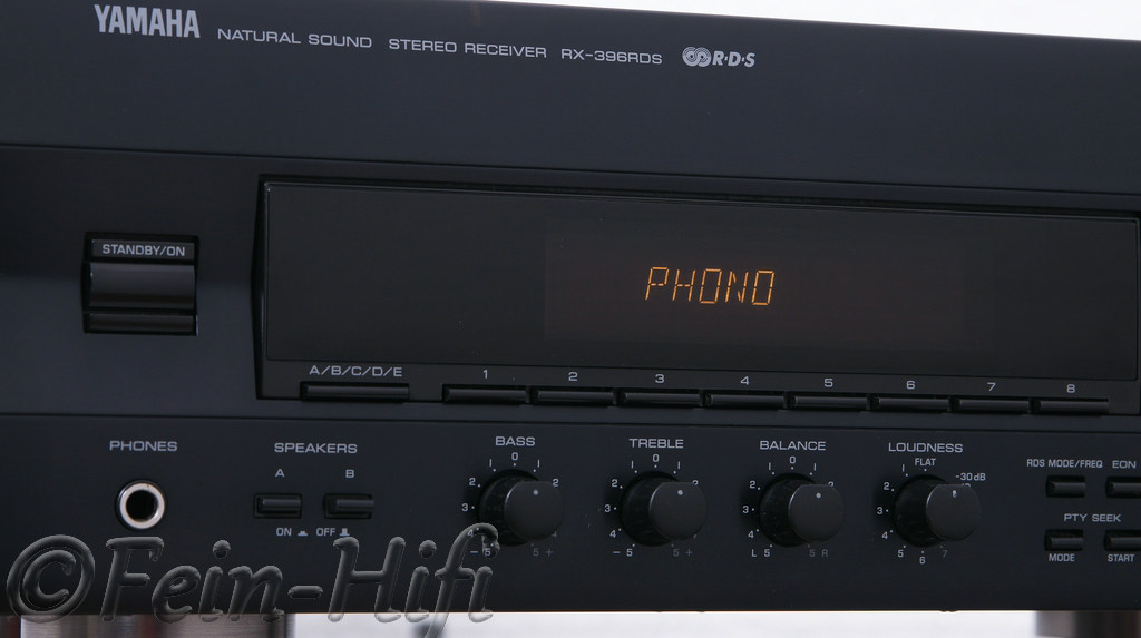 yamaha stereo receiver rx 396rds second hand. Black Bedroom Furniture Sets. Home Design Ideas