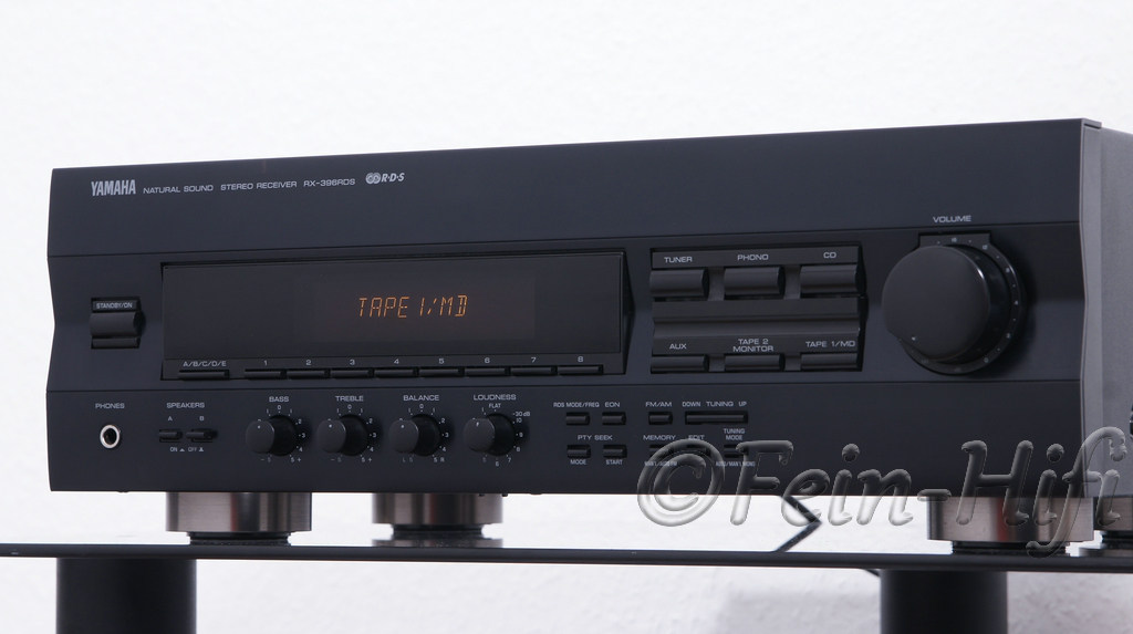 Yamaha stereo receiver rx 396rds second hand for Yamaha pure direct