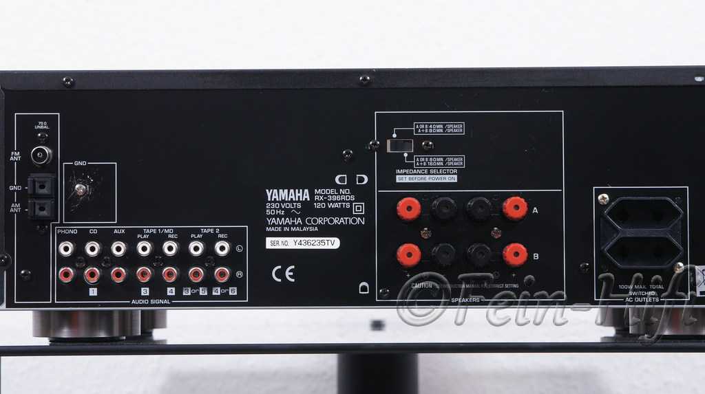 Yamaha Amplifier With Phono Input