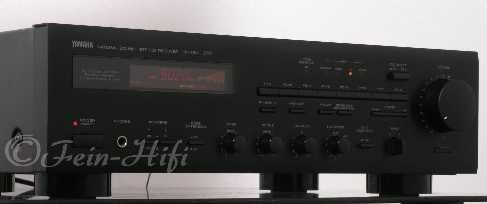 Yamaha rx 450 stereo receiver mit phonoeingang gebraucht for Yamaha rxv781 review