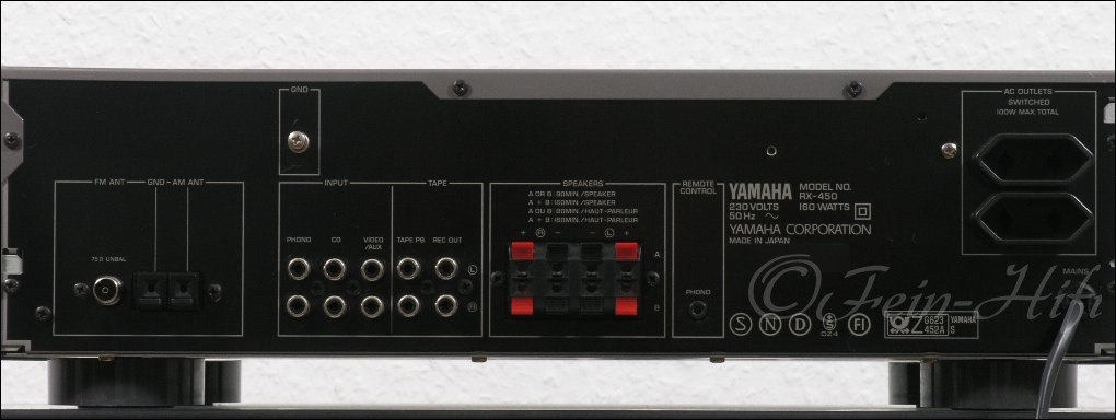 Yamaha Rx  Cd Direct