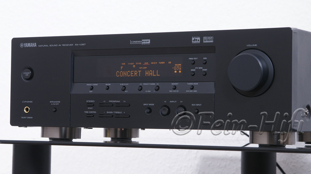 Yamaha rx v357 dolby digital 5 1 av receiver for Yamaha audio customer service