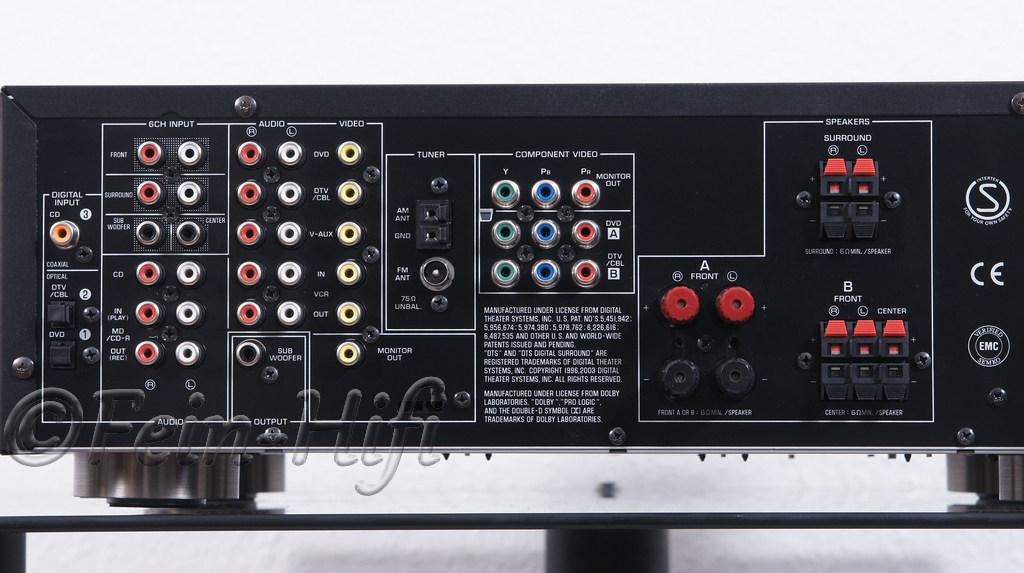 Yamaha Av Receiver Rx V