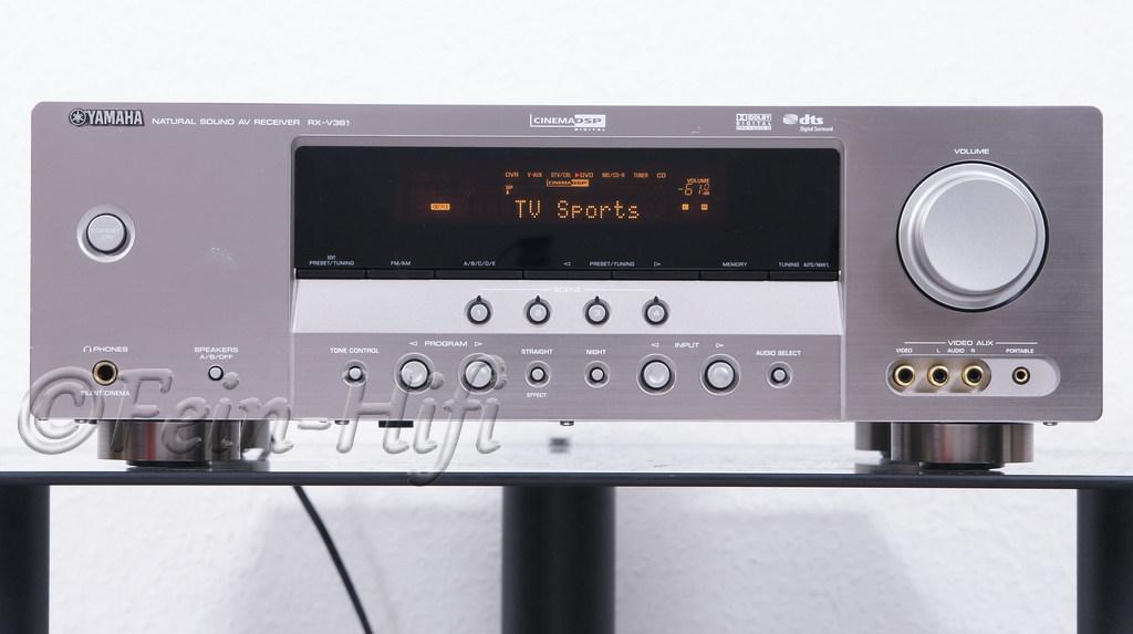 Yamaha Rx V361 Dolby Digital Surround Virtual Cinema Dsp