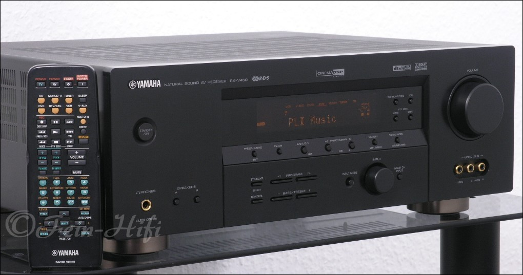 Yamaha rx v450 digital surround 6 1 av receiver for Yamaha rx v450 av receiver price