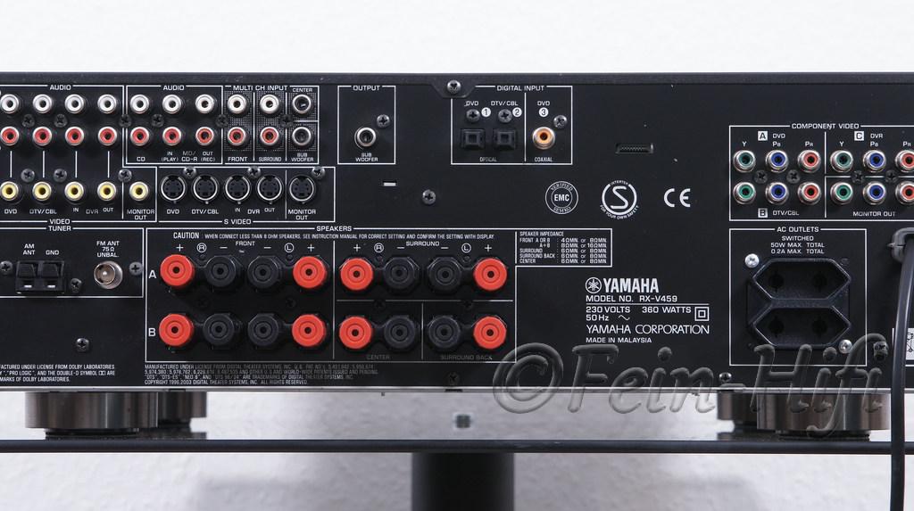Onkyo Or Yamaha  Av Receiver