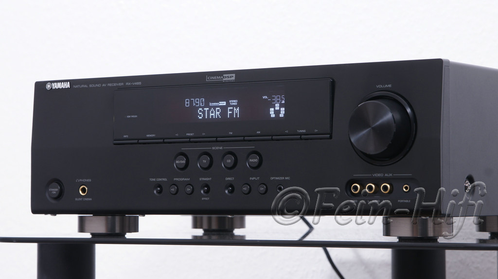 yamaha rx v465 true hd 5 1 surround receiver fein hifi. Black Bedroom Furniture Sets. Home Design Ideas