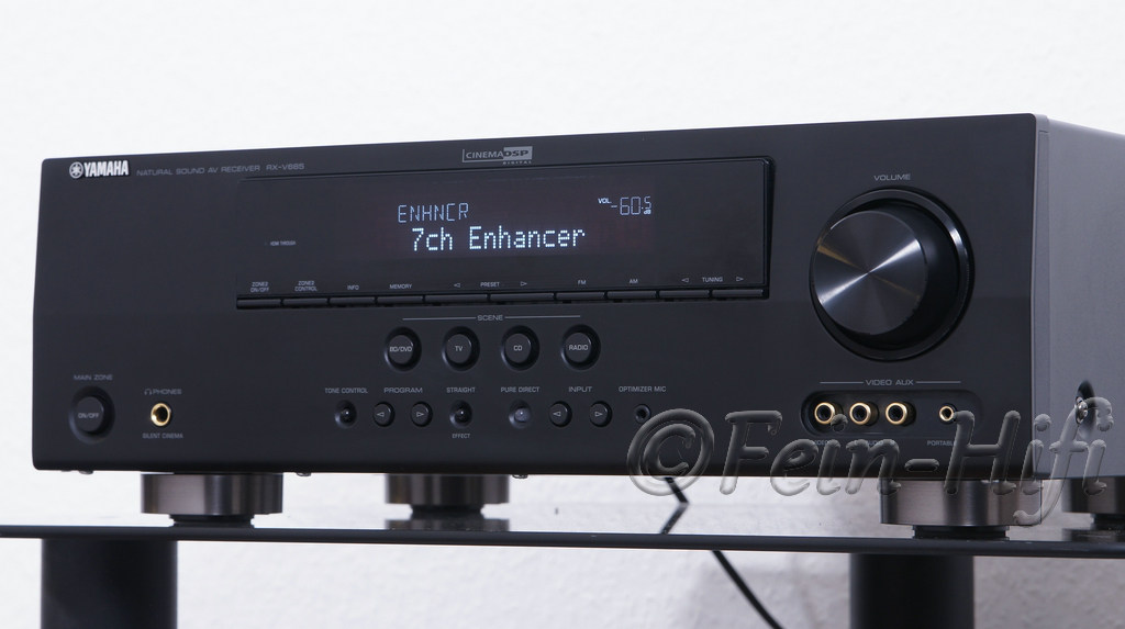 yamaha rx v665 hdmi 7 1 heimkino av receiver gebraucht