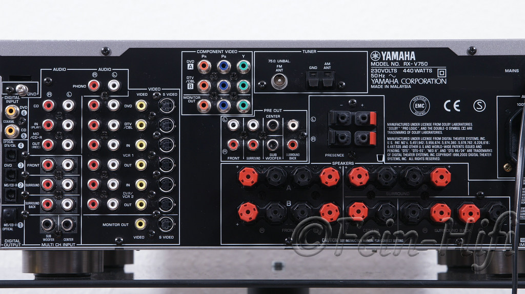 Yamaha Rx Va Digital Audio