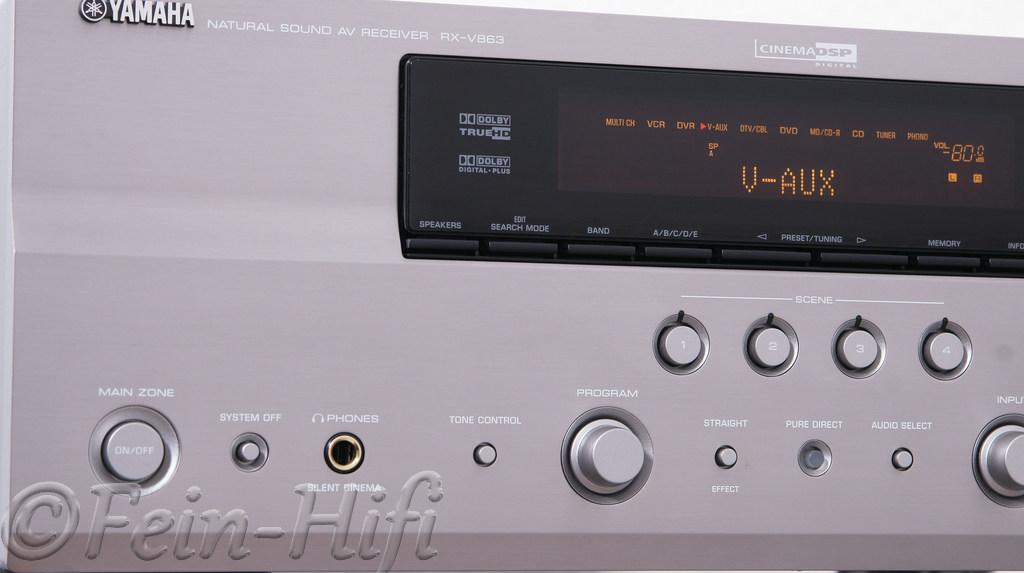 Yamaha RX-V863 Digital HDMI 7.1 Heimkino AV-Receiver