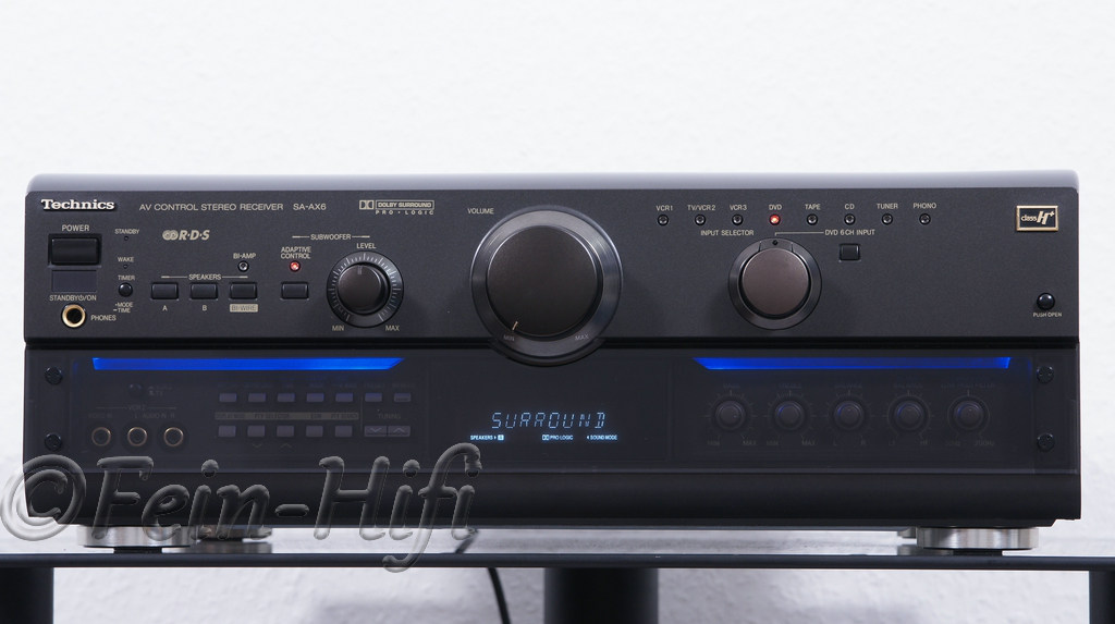 Dolby Surround Verstärker : technics sa ax6 surround 5 1 av receiver mit passiv subwoofer out ~ Aude.kayakingforconservation.com Haus und Dekorationen