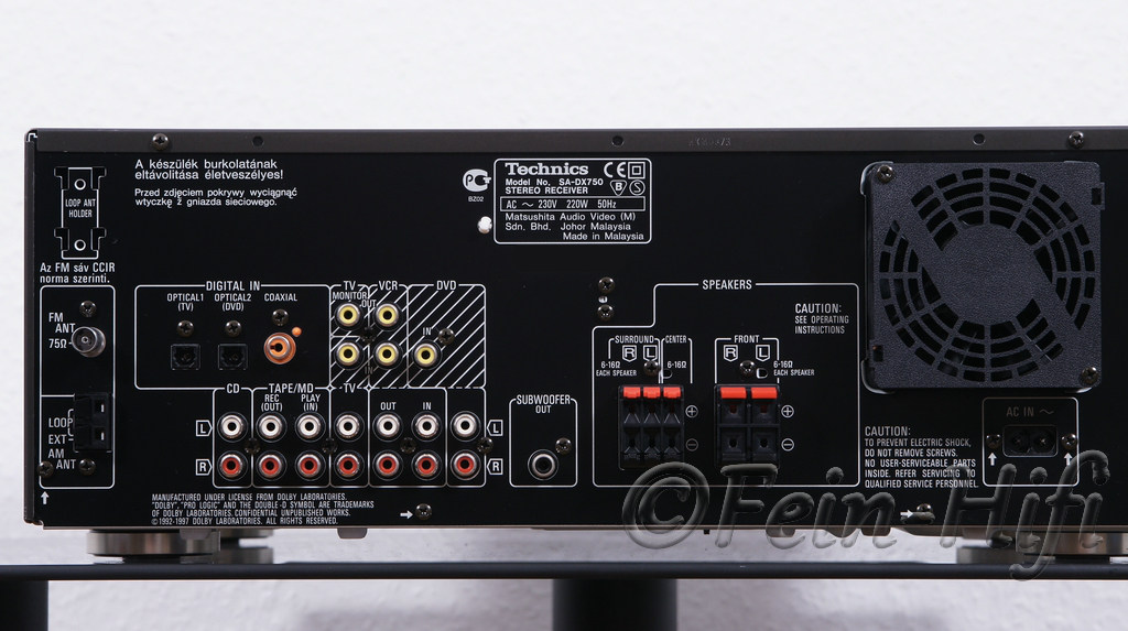 Technics Sa Dx940 Manual Pdf