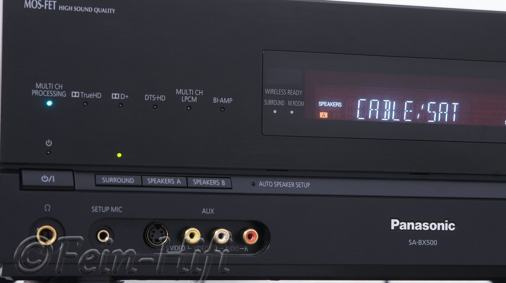 Panasonic SA-XB500 Digital 5.1 HDMI Heimkino AV-Receiver