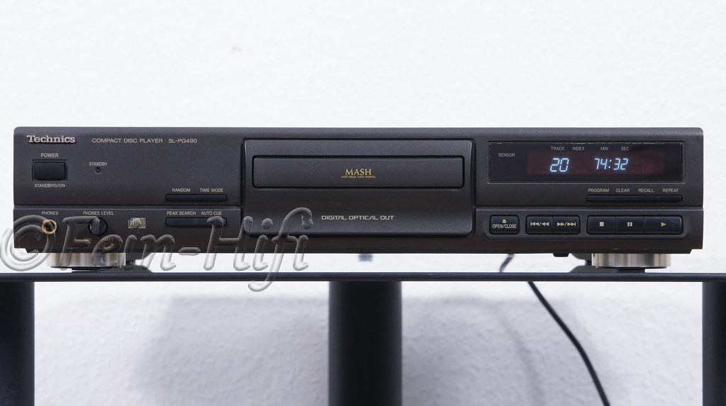 technics sl pg490 cd player gebraucht hier bei fein hifi. Black Bedroom Furniture Sets. Home Design Ideas