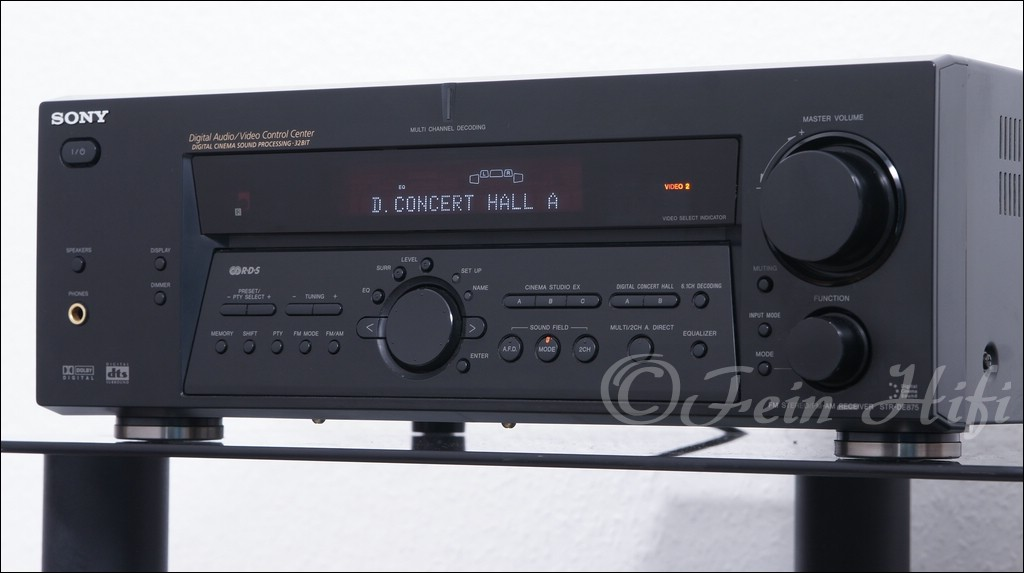 Dolby Surround Verstärker : sony str de875 dolby digital dts surround 5 1 av receiver ~ Aude.kayakingforconservation.com Haus und Dekorationen