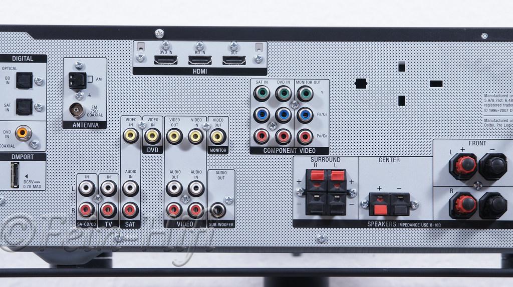 sony str dg520 digital hdmi heimkino 5 1 av receiver. Black Bedroom Furniture Sets. Home Design Ideas