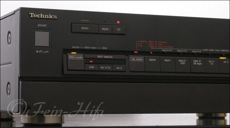 technics su a200 high end vorverst rker hifi pre amplifier. Black Bedroom Furniture Sets. Home Design Ideas