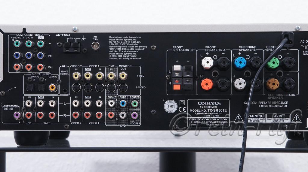 Onkyo tx sr501e 6 1 kanal av receiver gebraucht kaufen for Onkyo or yamaha receiver