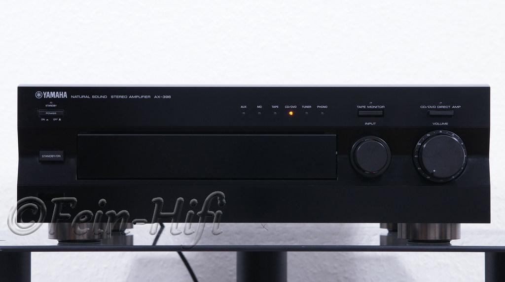 yamaha ax 396 stereo hifi verst rker mit 2x 150 watt max. Black Bedroom Furniture Sets. Home Design Ideas